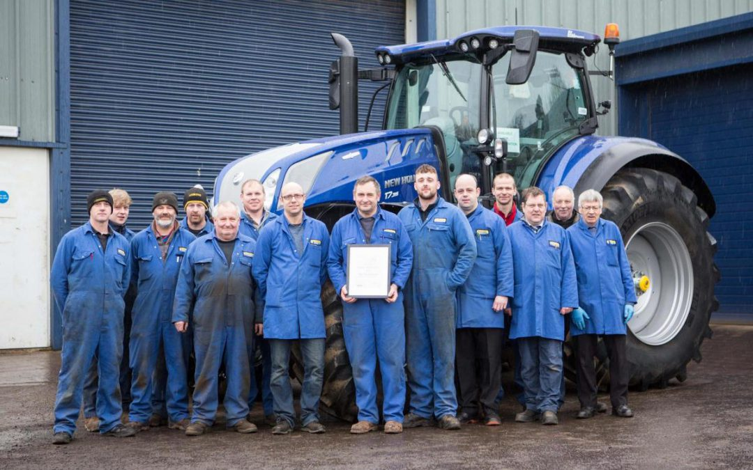 New Holland Dealer of The Year 2019