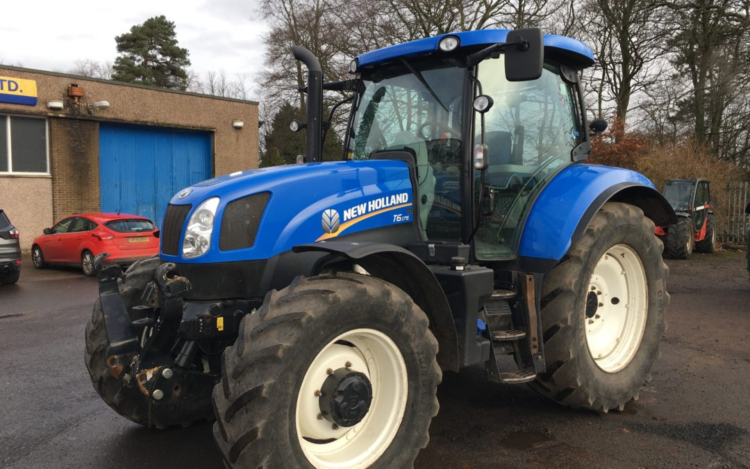2015 New Holland T6.175 Electro Command